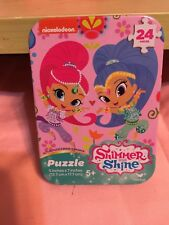 Nickelodeon Shimmer & Shine 24 Piece Travel Puzzle Tin