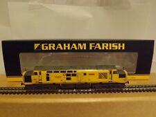 "GRAHAM FARISH 371-468A A CLASS 37/0 DIESEL LOCO ""JOHN TILEY"" NETWORK RAIL N GAUG"