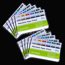 50Box Absorbent Root Cancel Paper Points Dental 0.02 15-40# Pulposis Endodontic