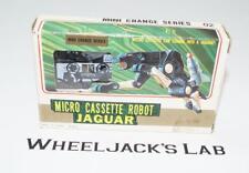 Ravage Cassette Complete Diakron Diaclone Mini Change Microchange Microman