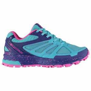 Kids Girls Karrimor Tempo 5 Trail Running Shoes Junior Runners Breathable New
