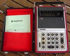 Sanyo icc-82d tubes Calculatrice Tube Calculator de 1969 incl. bloc d'Alimentation