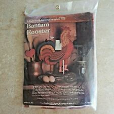 "VTG New Sewing Kit - ""Bantam Rooster"" Soft Sculpture - Yours Truly - 1983 - 2905"