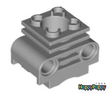 Lego Technic 4x Motor Block Zylinder Hell Grau Engine Cylinder 2850b Neuware New