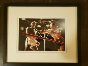Rocky Marciano Framed Boxing Photograph