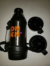 Dunkin Donuts Stainless Steel Limited Edition Travel Mug Thermos 2 Cups