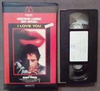 VHS FILM Ita Drammatico I LOVE YOU manzotti home video ex nolo no dvd cd lp(V46)