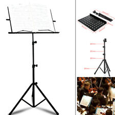 Heavy Duty Orchestral Sheet Music Conductor Stand Holder Tripod Base Foldable UK