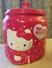 Hello Kitty Ceramic Cookie Jar
