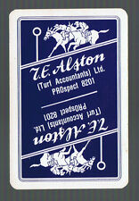 Playing Swap Cards 1 VINT RACE HORSES  S.E.ALSTON  TURF ACCOUNTANTS   W510