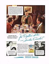 1930s BIG Vintage Camel Cigarettes Tony Manero Golfer Golf Photo Print Ad
