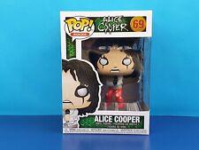 Alice Cooper en estrecho Chaqueta exclusivo Pop Vinilo Figura Pop Rocks Recto!