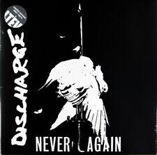 Discharge – Never Again LP / Ltd Ed Grey Vinyl Gatefold New Re (2016) Punk