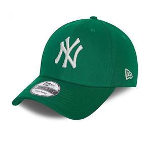 NEW ERA LEAGUE ESSENTIAL 9FORTY CAP. NEW YORK YANKEES. GREEN