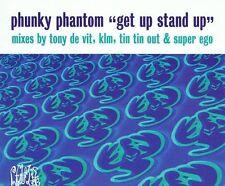PHUNKY PHANTOM Get Up Stand Up CD Single Distinctive 1998