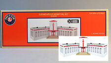 LIONEL LIONELVILLE LIGHTED HOSPITAL O GAUGE scenery building town 6-83745 NEW