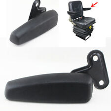 Universal PU Leather Truck Tractor Crane Seat Armrest Car Seat Accessories -Left