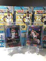 2019-20 NBA Hoops Premium Stock Rui Hachimura RC Lot X2 PULSAR PRIZM Wizards