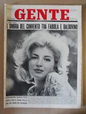 GENTE n°20 1962 Monica Vitti Tutto sul Festival di Cannes Liz Taylor  [G790]