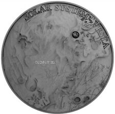 NIUE 2018 1 Oz Silver $1 VESTA Solar System METEORITE NWA 4664 Coin.  ON HANDS.