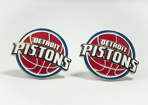 Detroit Pistons Cufflinks NBA Basketball