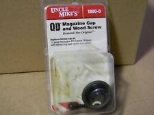 Uncle Mike's Magazine Cap & Wood Screw, 870 Rem. Exp. 12ga. New Style # 1800-0