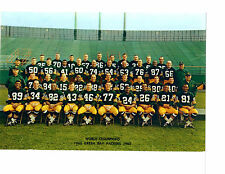 1965 WORLD CHAMPION GREEN BAY PACKERS  8X10 TEAM PHOTO  FOOTBALL SUPER