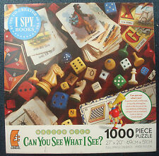 jigsaw puzzle 1000 pc Walter Wick Games Galore Can You See What I See ?