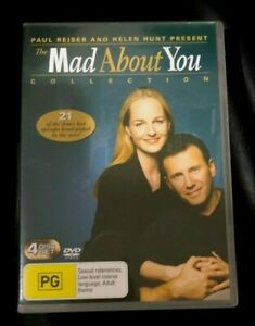 Mad About You Collection (DVD, 2005, 4-Disc Set) Very Good Condition Region 4