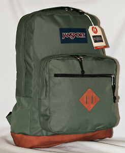 New JanSport City View Laptop Backpack -- Muted Green