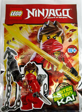 ORIGINAL LEGO Ninjago Limited Edition Minifigure KAI, New, FOIL PACK 891609