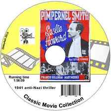 Pimpernel Smith - 1941 anti-Nazi thriller, Leslie Howard, Movie on DVD