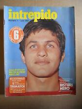 INTREPIDO n°1 1978 Walter Novellino - Intervista Paolo Villaggio  [G421]
