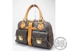 Sale! AUTH PRE-OWNED LOUIS VUITTON MONOGRAM MANHATTAN GM HAND BAG M40025 170434