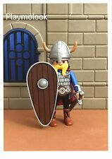 UN ESCUDO COMETA CUSTOM VIKINGOS KNIGHT SHIELD PIEZAS PLAYMOBIL NO INCLUIDAS