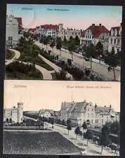 97723 2 AK Sulechow Züllichau Kaiser Wilhelm Strasse mit Kreishaus 1909 1913