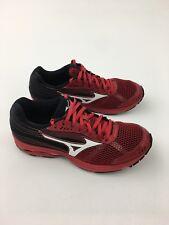 Mizuno Womens Black Neon Pink Wave Sayonara 3 Running Shoes 9 Medium (B, M)