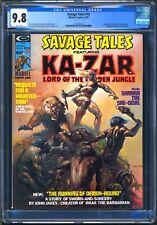 SAVAGE TALES #10 - CGC 9.8 - WP NM/MT - KA-ZAR - SHANNA SHE DEVIL  VALLEJO COVER