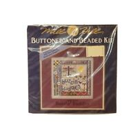 MHCB194 Mill Hill Buttoned & Beaded Buzzin' Buddies New Dragonfly cross Stitch