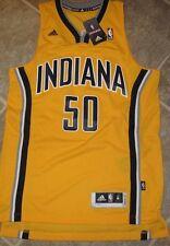 cd22d24f78e9 Adidas Swingman NBA Jersey INDIANA Pacers Tyler Hansbrough Yellow sz 2X