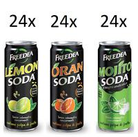 72x Dosen Lemonsoda Oransoda Mojitosoda 330 ml Campari Group italienisch trinken