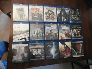 blu ray lot of 30 huge wholesale movie collection great shape