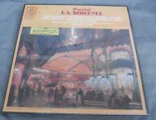 JAMES LEVINE -LA BOHEME- PUCCINI (RENATA SCOTTO) 1980 USA 3 X LP'S STILL SEALED