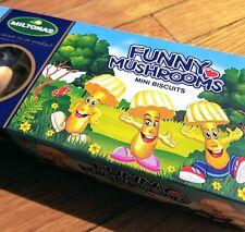 Miltonas Funny Mushrooms Mini Biscuits Lithuania (White Chocolate)