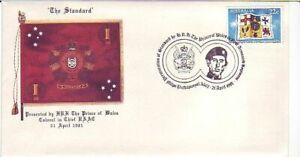Standard Presentation to RAAC by HRH Prince Charles (RAAC SC) 21/4/1981