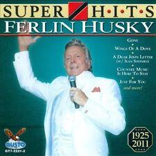 "FERLIN HUSKY, CD ""SUPER HITS"" NEW SEALED"