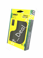 OEM OTTERBOX IMPACT RUBBER SKIN CASE COVER FOR HTC EVO 3D SPRINT BOOST BLACK