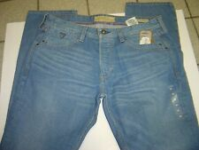 "NEW MENS GUESS ""VERMONT"" SLIM FIT LIGHT WASH BUTTON FLY JEANS SIZE 36 X 34 $108"