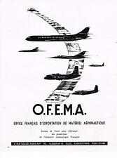 PUBLICITE ADVERTISING 014   1965   OFEMA    matériel aéronautique