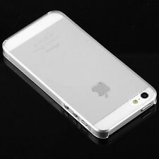 (1) .8mm Ultra Thin Glossy Clear Crystal Hard Case Cover iPhone 5 5S US Seller